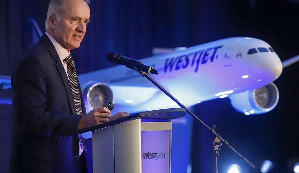 WestJet anuncia el retiro del CEO Ed Sims