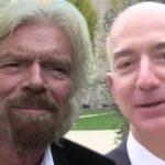 Richard Branson planea vencer a Jeff Bezos en el espacio