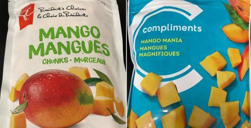 Retiran del mercado cuatro tipos de mango congelado debido a la contaminación por hepatitis A
