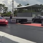 Así de rápido es el Tesla Model S Plaid del Porsche Taycan Turbo S.