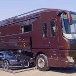 La Performance S Camper de Volkner tiene un garaje incorporado para el Bugatti – informe Robb.
