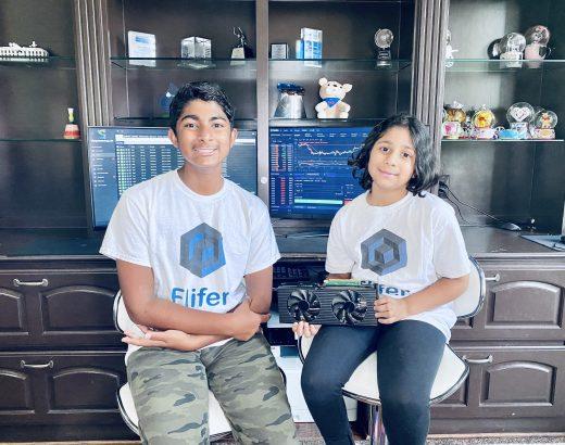 Cómo un adolescente y su hermana ganan $ 35,000 al mes extrayendo bitcoins