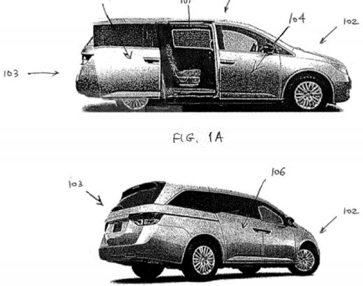 Rivian desarrolla una patente para puerta corredera, insinuando una camioneta